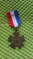 Medaille / Medal - Medaille  Nederland  -  Avondvierdaagse N.N.W.B Friesland - Sports