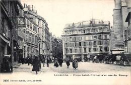 Suisse - Lausanne - Place Saint-François Et Rue De Bourg - VD Vaud