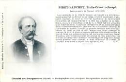 Namur - Bourgmestre De Namur - 1876 - 1879 - Emile Piret-Pauchet - Namur