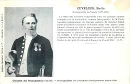 Namur - Bourgmestre De Namur - 1879 - 1890 - Emile Cuvelier - Namur