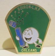 Pin's Boiron L.H.F. Orléans (45) - Trademarks