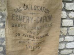 AMIENS (80-Somme )   Très Ancien Sac En Toile De Jute - Other