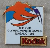 KODAK SPONSOR - THE XVIII OLYMPIC WINTER GAMES NAGANO 1998 - JEUX OLYMPIQUES- SKIS ALPIN -       (20) - Photography