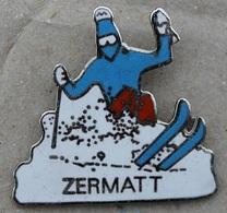 ZERMATT - SUISSE - SWISS MONTAIN -  SKI - NEIGE - POUDREUSE - SCHWEIZ - SWITZERLAND   (20) - Cities