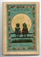 1884 ALMANACH Kate GREENAWAY - Calendars