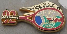 TENNIS - MONTE CARLO - ROSSIGNOL 92 - RAQUETTE - ARTHUS BERTRAND PARIS - MONACO  -    (20) - Tennis