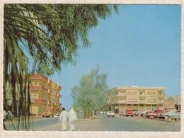 8AK1541 ARABIE SAOUDITE KING ABDULAZIZ STREET DAMMAN VOITURES  2 SCANS - Arabie Saoudite