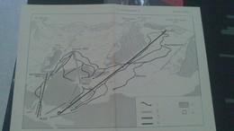 Affiche (dessin) - Un Exemple De Station De Ski : GOURETTE + Tourisme Dans Les PYRENEES....recto Verso - Affiches