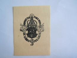 Ex-Libries België Carpent Tua Poma Nepotes Jos Gilis Mariabeeld Form 6,5x 8,8 Cm Getekend Signé GJ - Bookplates