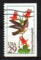 USA. Timbre Oblitéré De 1992. Colibri. - Hummingbirds