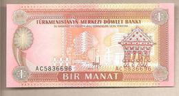 Turkmenistan - Banconota Non Circolata FdS Da 1 Manat P-1 - 1993 - Turkmenistan
