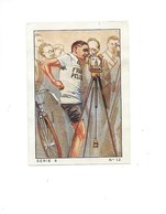 Chromo Cyclisme Sport 1930s N°12 Léon Le CALVÈS Moëlan Bien 57 X 40 Mm 3 Scans - Nestlé