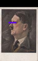 2734 - Hitler Portrat. W. Eher Ungel. - Weltkrieg 1939-45