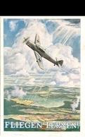 2645 - Fliegern Lernen Postkarte Ungel. - Weltkrieg 1939-45