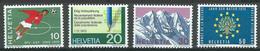 Suisse YT N°864/867 Timbres De Propagande Neuf ** - Suisse