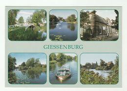 2012 NETHERLANDS  COVER (postcard GISSENBURG RIVER TOUR BOAT On GISSEN, Bridge) Stamps GREEN ENERGY LIGHTBULB Electric - Period 1980-... (Beatrix)