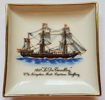 """VIDE POCHE - Cie De Navigation Mixte - 1850 """"LE DRU TREMBLAY"""" Capitaine GEOFFRAY - L'ALGERIE, LA TUNISIE Et LES BALEARES - Bateaux"""
