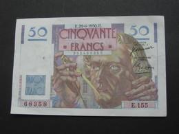 50 Francs - Cinquante Francs LE VERRIER - 29-6-1950    **** EN ACHAT IMMEDIAT ***** - 1871-1952 Antiguos Francos Circulantes En El XX Siglo