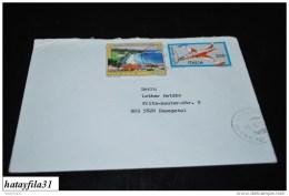 Italien     1991   Ganzsahe / Brief   Nach  Deutschland   ( T -  77 ) - Interi Postali