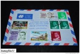 Spanien     1980    Luftpostbrief     Nach  Deutschland   ( T -  77 ) - Luftpost