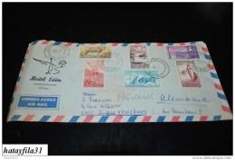 Spanien     1968    Luftpostbrief     Nach  Deutschland   ( T -  77 ) - Luftpost