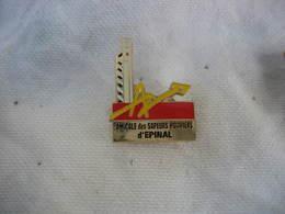 Pin's De L'Amicale Des Sapeurs Pompiers De La Ville D'EPINAL - Firemen