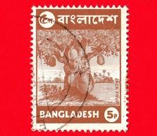 BANGLADESH - Usato - 1973 - Alberi - Frutta  - Jackfruit Tree (Artocarpus Heterophyllus) - 5 - Bangladesh