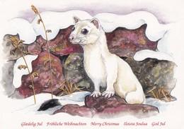 Mink Or Marten - Martre - Marter - Marder - Martora - Marta - Animal - Animaux - Fauna - WWF Panda Logo - Bent Nielsen - Autres