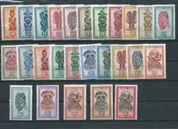 Artisanat Et Masques N° 277/295 XX Côte 120.00€ MH - 1947-60: Neufs