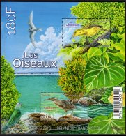2016 French Polynesia - Birds Of Polynesia - MS - MNH** Mi: Block 46 - Albatrosse & Sturmvögel