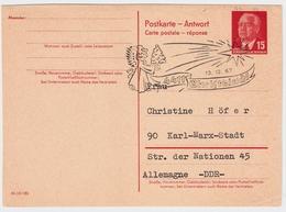 "1967, "" Christkindl "" A. Antwort-GA DDR , #a666 - 1945-.... 2. Republik"