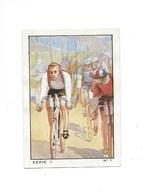 Chromo Cyclisme Sport 1935 N°1 Georges RONSSE Anvers Pub: Nestlé Bien 57 X 40 Mm 3 Scans - Nestlé