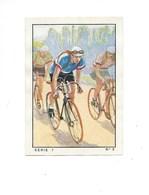 Chromo Cyclisme Sport 1935 N°3 André LEDUCQ Saint-Ouen Pub: Nestlé Bien 57 X 40 Mm 3 Scans - Nestlé