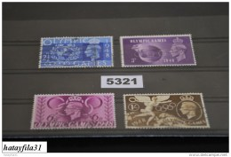Grossbritanien  1948   Mi. 237 - 240     Gestempelt - Used Stamps