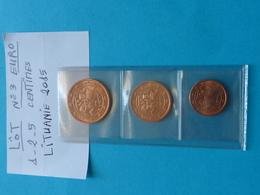 LOT  N° 3 -  PIECES  EURO  (  Voir Description Et Photos  ) - Lituania