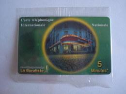 Carte Prépayée SWITCHback (N.S.B) 5 Minutes Internationale. - France