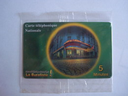 Carte Prépayée SWITCHback (N.S.B) 5 Minutes Nationale. - France