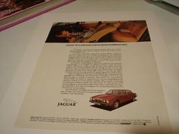ANCIENNE PUBLICITE VOITURE JAGUAR 1981 - Cars