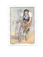 Chromo Cyclisme Sport 1935 N°10 Max BULLA Vienne Pub: Nestlé Bien 57 X 40 Mm 3 Scans - Nestlé