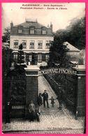 Haubourdin - Ecole Supérieure - Pensionnat PINCHART - Entrée De L'Ecole - Animée - Imp. DESCAMPS DELESALLE - 1920 - Haubourdin