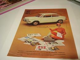 ANCIENNE PUBLICITE VOITURE LA PRINZ DE NSU  1969 - Cars