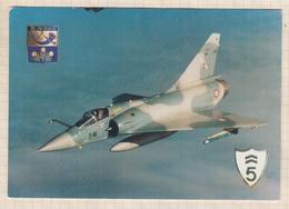8AK1567 AVION BASE AERIENNE 115 ORANGE CARITAT CAPITAINE DE SEYNES  2 SCANS - 1946-....: Ere Moderne