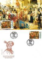 2000 - ANNIVERSARY - MIHAI VITEAZUL - MAXIMUMCARD & FDC - FDC