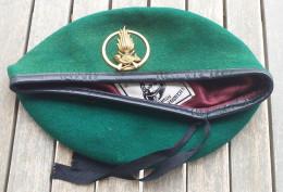Basco Verde Vintage Guardia Di Finanza Tg. 60 Usato Completo - Copricapi