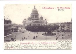 RU 190000 SANKT PETERSBURG, Le Cathedral D'Isaac, 1905, Eckmangel - Russland