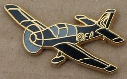 AVION NOIR A HELICE - FA - BOUSSEMART -       (20) - Airplanes