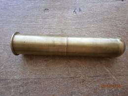 Douille De 40 Mm Avec Couvercle WW1 ,WW2 Inerte , Porte Lettre ? - 1939-45