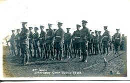 N°63084 -carte Photo Stafords' Camp Towyn 1909 - Kazerne