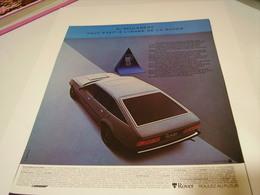 ANCIENNE PUBLICITE AFFICHE VOITURE  ROVER   1981 - Cars