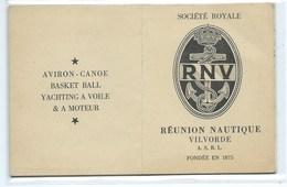 Vilvoorde Vilvorde Aviron Canoe Basket Ball Yachting à Voile & à Moteur - Vilvoorde